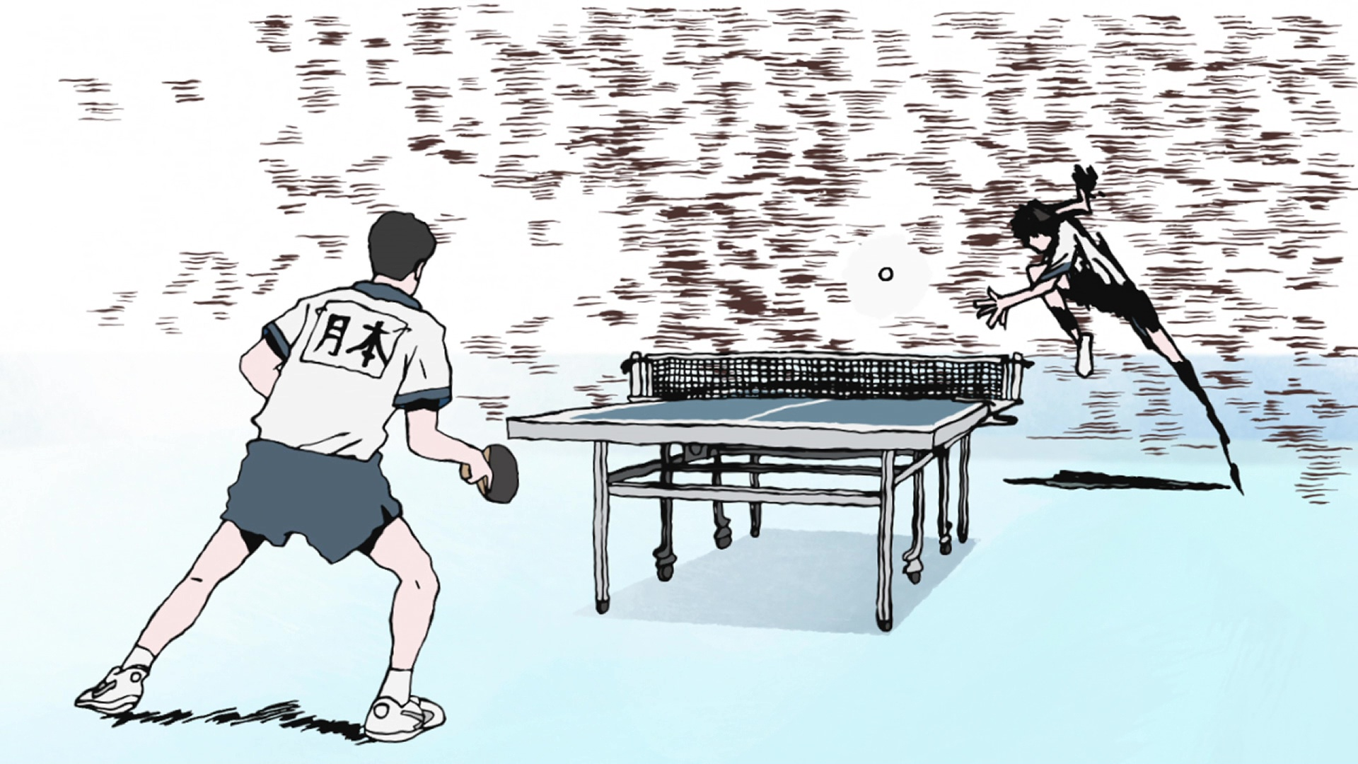 Floating Words Anime Review Ping Pong The Animation